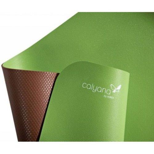 AIREX® podložka Calyana Yoga Prime, zelenohnědá