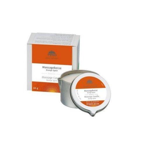 Masážní svíčka - Orange Spirit, 60g