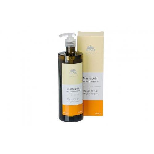 Aromatický masážní olej, Pomeranč Lemongras, 500 ml