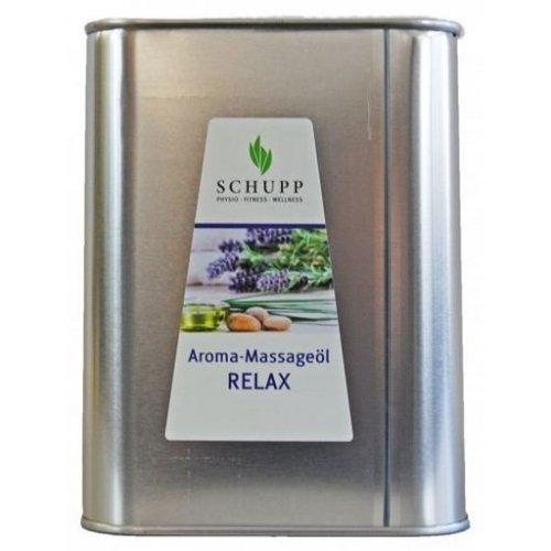 Aromatický masážny olej, Relax, 2500 ml