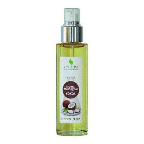Aromatický masážní olej, Kokos, 100 ml