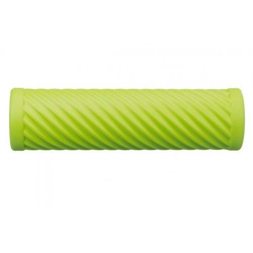 Cvičebný valec pre fasciálnej tréning, s vlnami, zelený