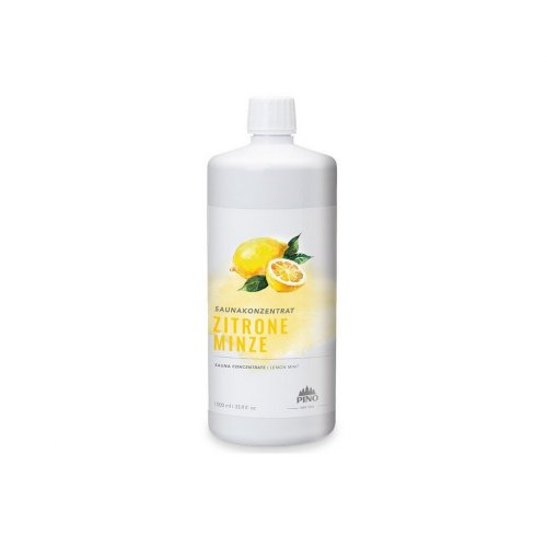 Silvapin® Esencia pre sauny - Citrón / Mäta, 1000 ml