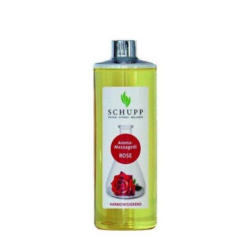 Aromatický masážní a tělový olej Růže, 500 ml