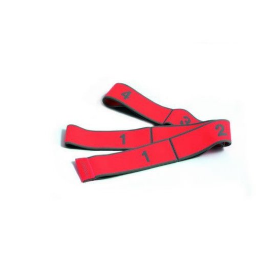 PINOFIT® Stretch Band, korálová, střední zátěž, 1 m