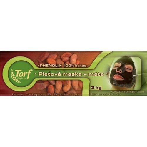 Kakaová maska na obličej, máta, 3 kg