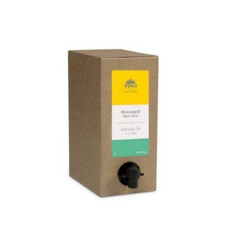 Aromatický masážní olej, Citrón Máta, 3000 ml