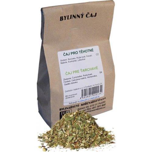 Těhotenský bylinný čaj