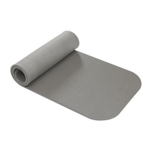 Coronella 200 Zilverkleurig Fitnessmat - 200 cm x 60 cm x 1,5 cm