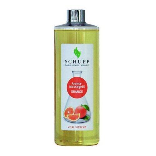Aromatický masážny olej, Pomaranč, 500 ml + dávkovač