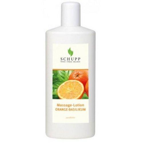 Masážna emulzia Pomaranč, bazalka - 1000 ml