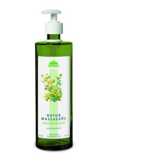 Prírodný masážny olej - ľubovník bodkovaný, 500 ml