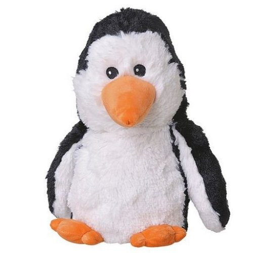 Hřejivý plyšový tučňák