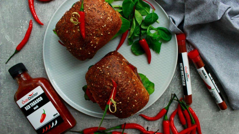 Chilli fazolové burgery