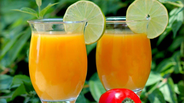 Mangové smoothie s chilli a limetkou