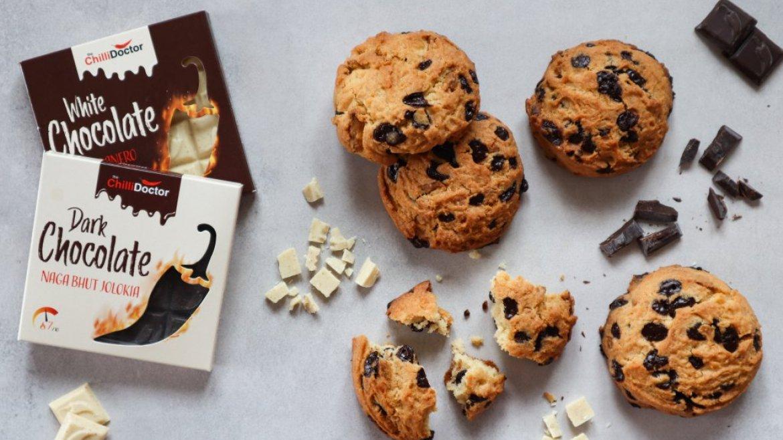Cookies s čili čokoládou