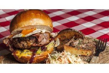 Habanero hovězí chilli burger