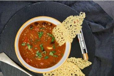 Polévka Chilli con carne
