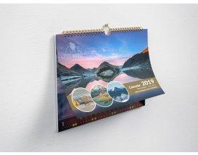 Kalendář Nový Zéland 2020 - formát A3