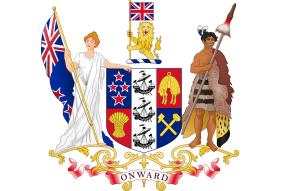 Státní znak Nového Zélandu
