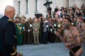 Maorské přivítání