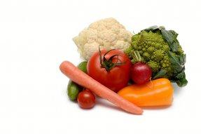 Zakázané potraviny Čerstvá zelenina