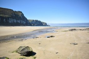 Purakaunui beach