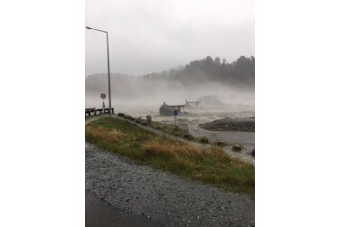 Silné deště na West Coast