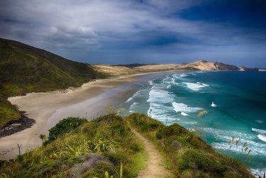 Nejkrásnější pláž Nového Zélandu