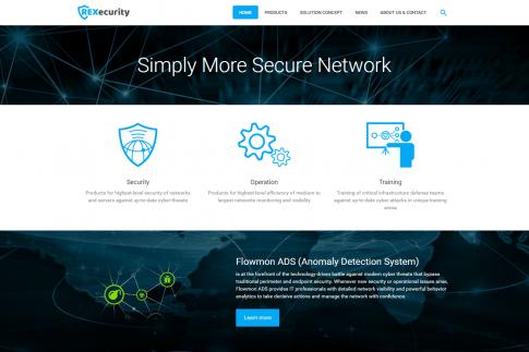 Webové stránky - REXecurity.com
