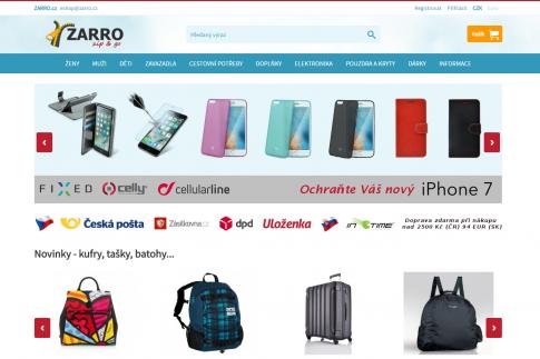 E-shop - Zarro.cz