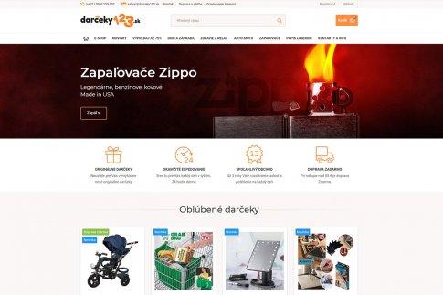 E-shop pro Slovensko - Darceky123.sk