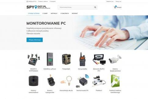 E-shop pro Polsko - Spy007.pl
