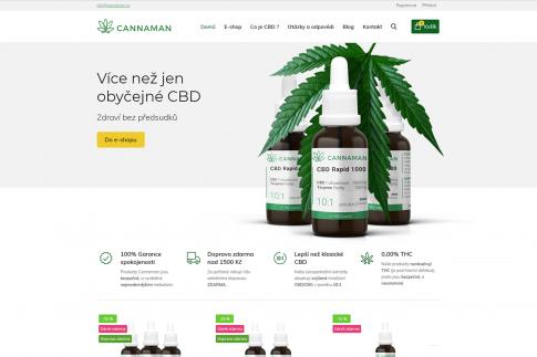 E-shop - Cannaman.cz