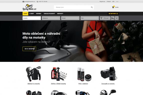 E-shop - LuckyMoto.cz