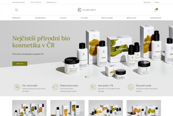E-shop - KlaraRott.cz