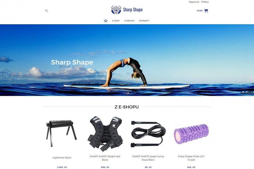 E-shop - SharpShape.cz
