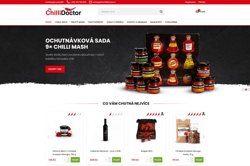E-shop - theChilliDoctor.cz
