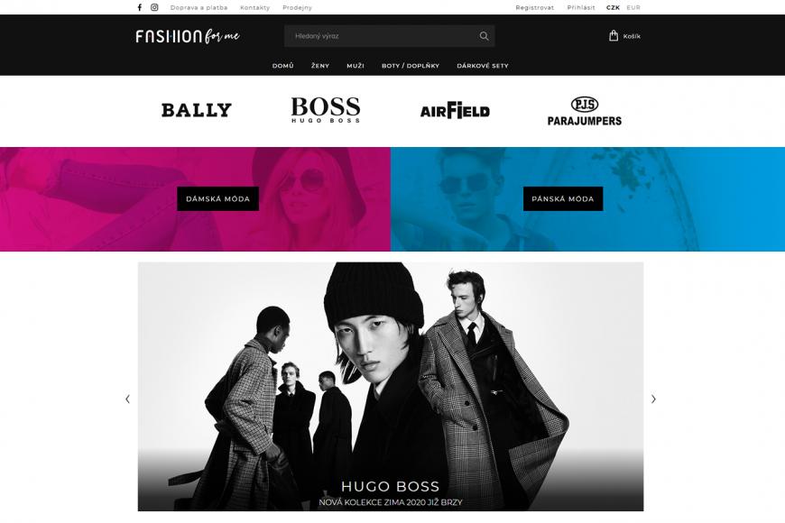E-shop - FashionForMe.cz