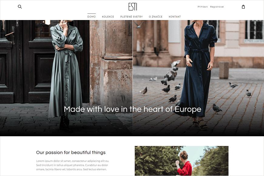 E-shop - ESTI.cz