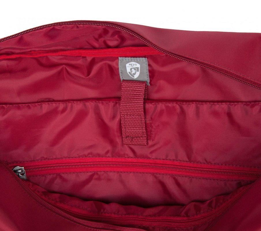 Heys HiLite Multi-Zip Boarding Duffel Red