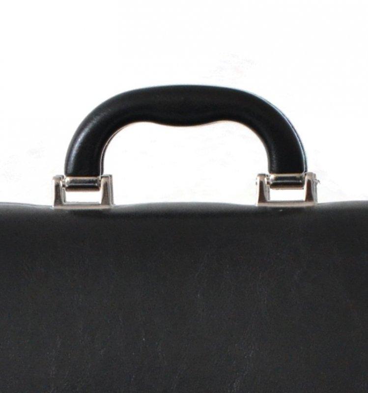 Aktovka REAbags 7416TR - černá/nikl