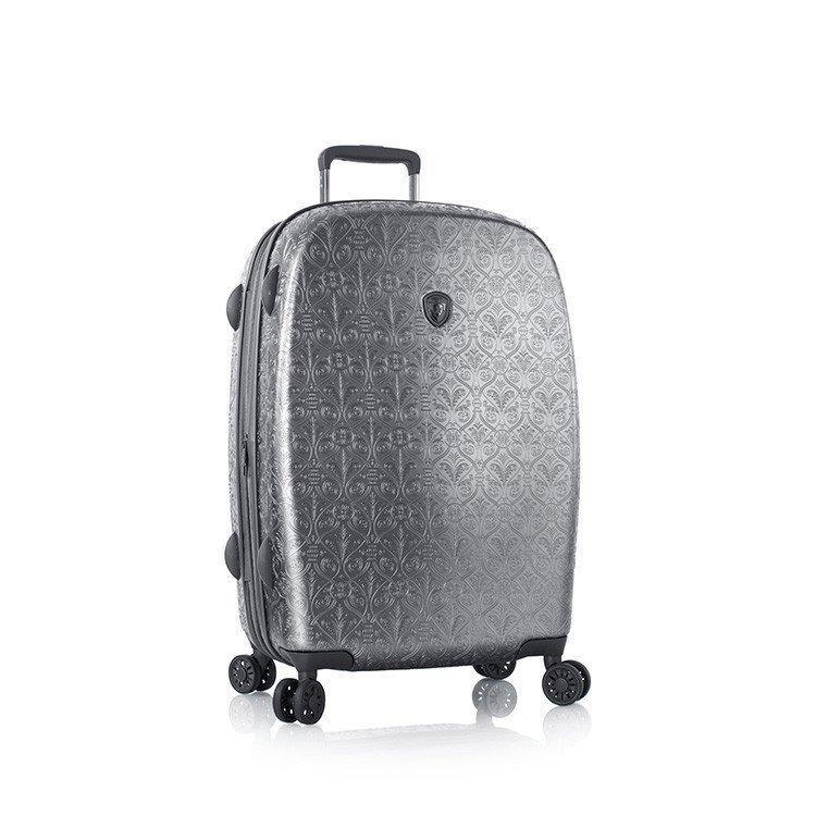 Heys Motif Femme M luxusní cestovní kufr TSA 66 cm 86 l Gunmetal