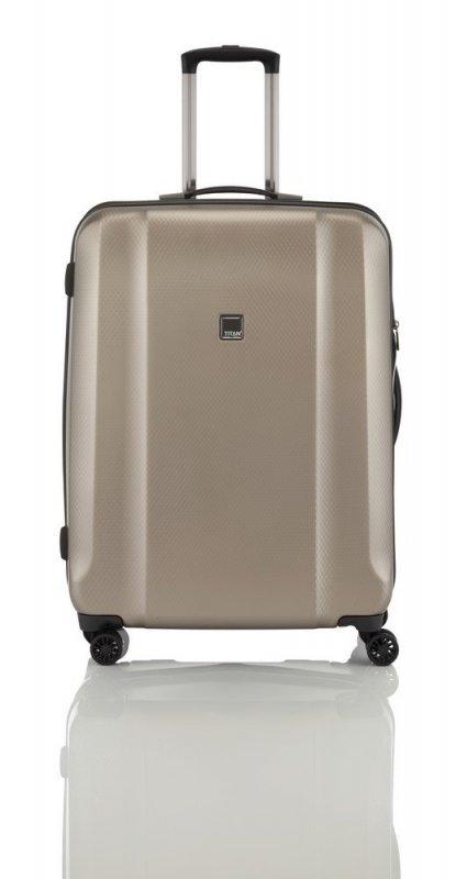 Titan Xenon Deluxe 4w L cestovní kufr TSA 74 cm 113 l Champagne