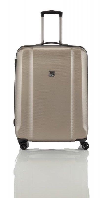 Titan Xenon Deluxe 4w S palubní kufr TSA 55 cm Champagne