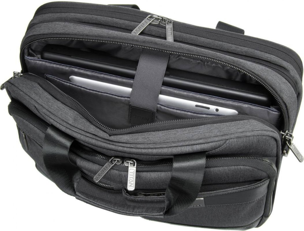 Titan Power Pack Laptop Bag S Black