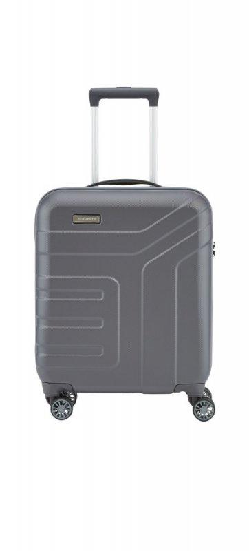 Travelite Vector 4w S palubní cestovní kufr TSA 55x40x20 cm 40 l Anthracite