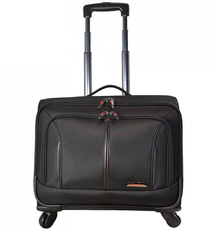 """Aerolite WLB41 business příruční kufr na notebook 16"""" černý 36 l"""