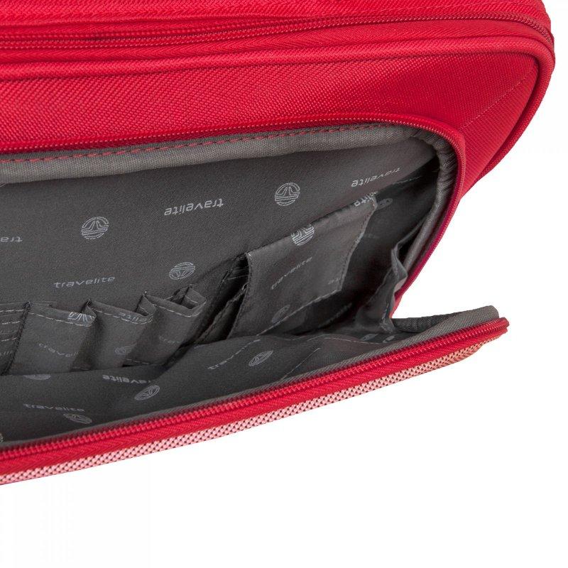 Travelite Orlando palubní cestovní taška 38x29x18 cm 18 l Red