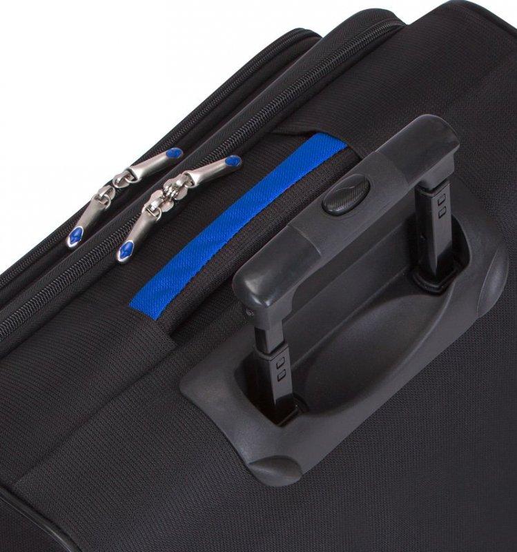 Azure Sirocco T-1103 Business palubný kufor pre notebook 41 cm čierna/modrá